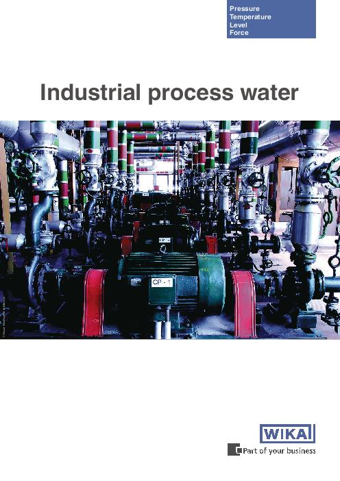 Industrial process water